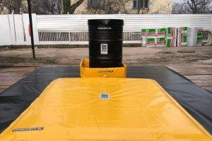 Поддон ПВХ с системой Oilbag